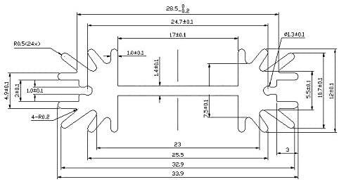 To-220 Aluminium Heatsink